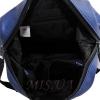 Городской  рюкзак MIC 35762 синий металик 4