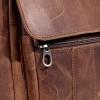Мужская кожаная сумка Vesson 4639 коричневая 2