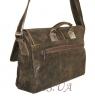 Мужской кожаный портфель 4381 хаки 2