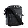 Мужская кожаная сумка Vesson  4550 черная 2