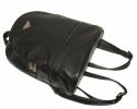 Кожаный рюкзак 4342 черный 3
