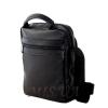 Мужская кожаная сумка Vesson  4575 черная 3