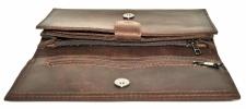 Мужской кошелек 4356 коричневый 3