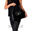 Женская замшевая сумка MIC 0703 черная 5