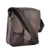 Мужская кожаная сумка Vesson 4563 коричневая 2