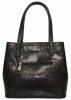 Women Bag 35381 black with embossing 1