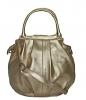 Женская сумка 35440 золотистая 3