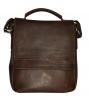 Мужская кожаная сумка 4508 коричневая 0