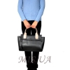 Женская сумка 35646 черная комбинированнная 4 4