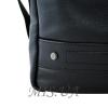 Мужская кожаная сумка Vesson  4571 черная 2