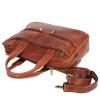 Мужской кожаный портфель Vesson 4631 рыжий 5