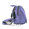 Female backpack 2533 purple metallic 1