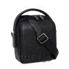 Men's leather bag 4604 black 2