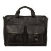 Мужской кожаный портфель 4301 черный 0