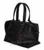 Женская сумка комбинированная 0657 черная 2