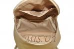 Женский рюкзак 35411 золотистый 6