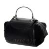 Женская замшевая сумка MIC 0701 черная 4
