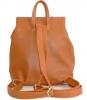 Женский рюкзак 35439 рыжий  1