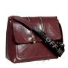 Женская сумка МІС 35810 бордовая 2
