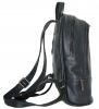 Кожаный рюкзак 4342 темно-синий 6