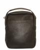 Мужская кожаная сумка 4348 коричневая  1