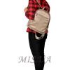 Женская сумка 383006 бежевая 3