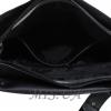Жіночам замшева сумка MIC 0713 чорна 4