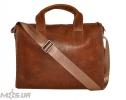 Мужской  портфель 4241 рыжий 2