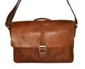 Мужской кожаный портфель 4381 рыжий 0