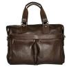 Мужской кожаный портфель 4369 коричневый 0