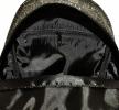 Женский рюкзак 35411 черный  с принтом 4