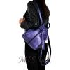 Шкіряний рюкзак МІС 2533  фіолетовий металік 3