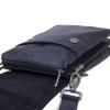 Мужская кожаная сумка 4260 синяя 2