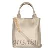 Жіноча сумка 35623 срібна 2