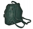 Жіночий рюкзак 2534 зелений 3