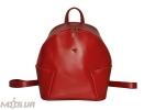 Шкіряний рюкзак 2517 червоний 0