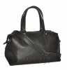 Женская сумка комбинированная 0657 черная 3