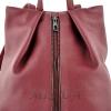 Female backpack 2569 burgundy 2