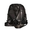 Женский кожаный рюкзак 381995 черный 3