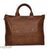 Мужской кожаный портфель 4254 коричневый 0