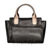Женская сумка 35646 черная комбинированнная 4 0