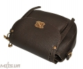 Женская сумка 35569 темно-коричнева 5