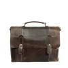 Мужской кожаный портфель Vesson 4635 коричневый 0