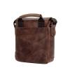 Мужская кожаная сумка Vesson 4639 коричневая 3