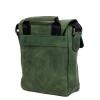 Мужская кожаная сумка Vesson 4639 зеленая 3