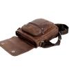 Мужская кожаная сумка Vesson 4639 коричневая 5