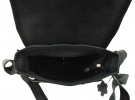 Мужская кожаная сумка 4229 черная 5