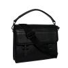 Мужская кожаная сумка-портфель Vesson 4206 черная 2