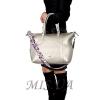 Женская сумка 35643 серебристая 6