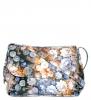 Женская сумка 35301 синяя с цветным принтом 0